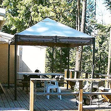 11 X 9 Rectangular Gazebo Replacement Canopy Top Cover