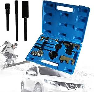 YIYIBY - Juego de Herramientas para Cambio de Correa Dentada para Motor, Cadena de Control para Renault Petrol Engine Timing Belt Tool Kit: Amazon.es: Coche y moto