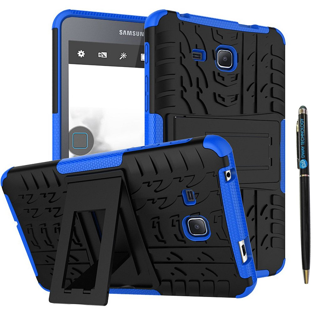 Tab A 7 Inch Tablet Case DWaybox 2in1 Combo Hybrid Armor Rugged Heavy Duty Hard Back Case Cover with Kickstand for Samsung Galaxy Tab A 7.0 Inch ...