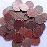 Indian Head Small Cents (1859-1909) 53PCS (Mixed Dates and Mintmarks ) Copper copy coins