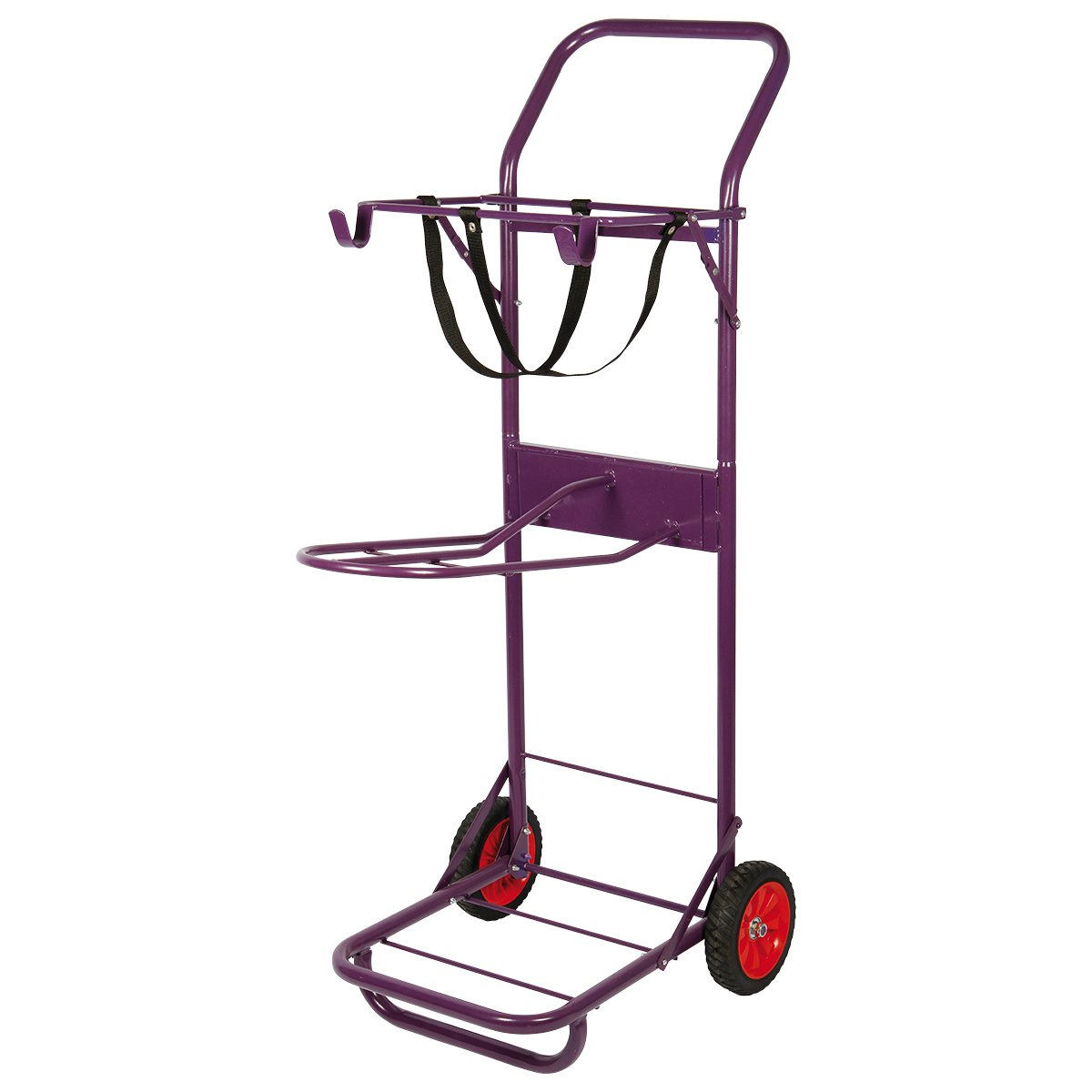 Reining Horse Stall Cart Color Saddle Trolley Colour: Purple Harrys horse