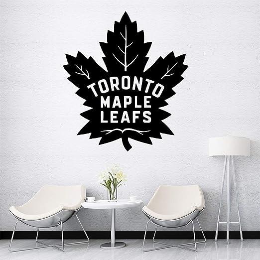 Creativo Toronto hojas de arce de dibujos animados tatuajes de ...