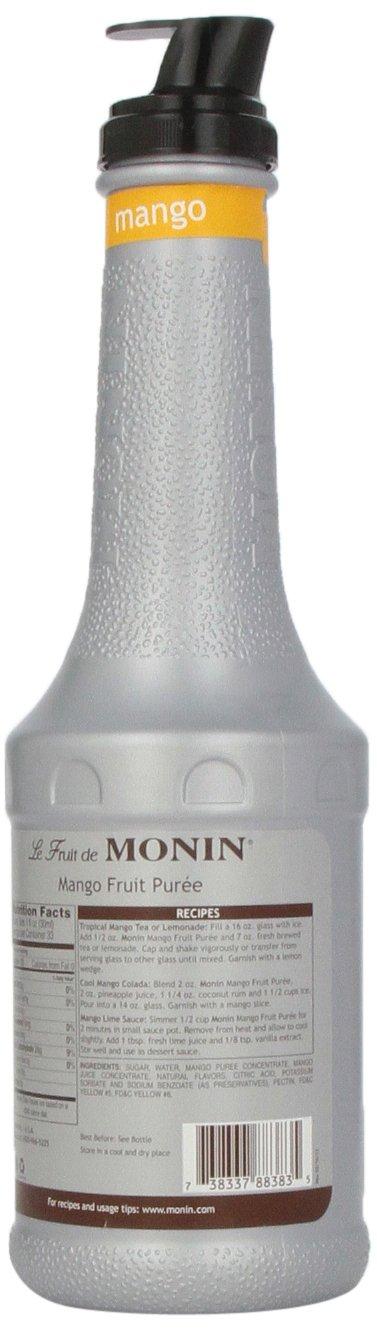 Monin Mango Fruit Puree, 1 Liter bottle by Monin (Image #5)