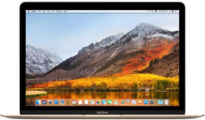 Apple MacBook (de 12 pulgadas: Intel Core m3 de doble núcleo a 1,2 GHz, 256GB) - Oro (Modelo Anterior)