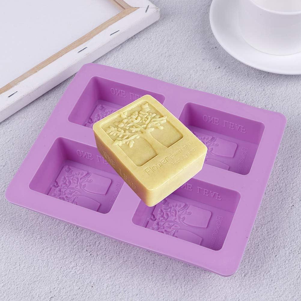 FADACAI 1 St/ücke 4 Hohlr/äume Runde Silikonform Seife Form Kuchen Seife Zuhause /& K/üche Schokolade /& S/ü/ßigkeiten Formen Kochen /& Dessert