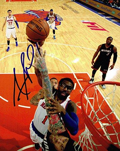 Signed Amare Stoudemire Photograph - 8X10 COA - Autographed NBA Photos