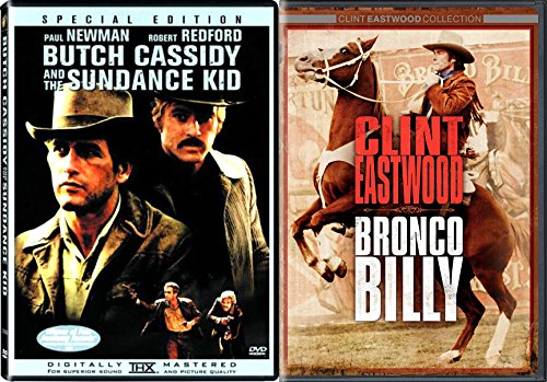 Bronco Billy Clint Eastwood & Butch Cassidy and the Sundance Kid Western Double Feature DVD 2-pack