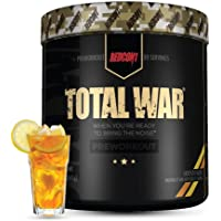 Redcon1 Total War - Limited Edition Line - Pre Workout, 30 Servings, Boost Energy, Increase Endurance and Focus (Iced…