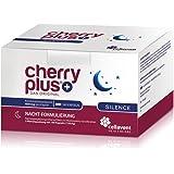 Cherry PLUS Silence: Nachtkombi aus der Montmorency Sauerkirsche mit Melatonin, Schlafbeere (Ashwagandha) & 5 HTP von Cellavent Healthcare - 180 vegane Kapseln
