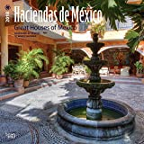Haciendas de Mexico, Great Houses of Mexico 2018 12 x 12 Inch Monthly Square Wall Calendar, Bilingual Spanish and English language (Spanish Edition) (Spanish and English Edition)