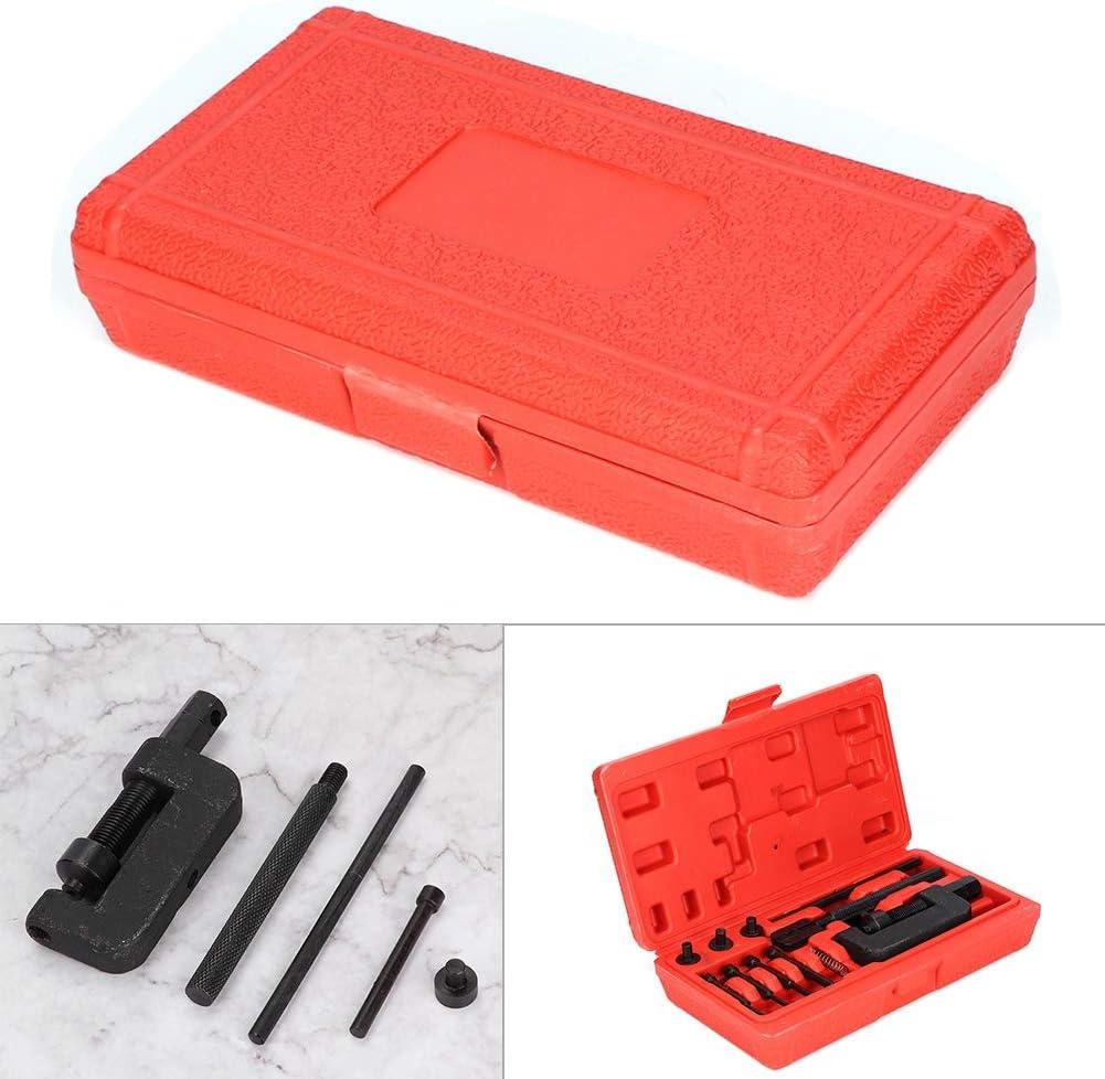 KIMISS Set di attrezzi per kit di riparazione rivettatrice per rivettatrice per collegamento a catena per splitter in acciaio al cromo vanadio