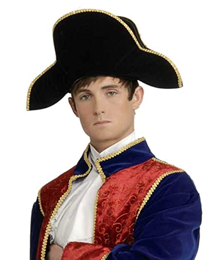 Amazon.com  62035 Bicorn Napoleon Hat  Clothing 43eebabcc57