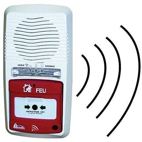 Tipo de alarma 4 radio independiente rango Axendis 100 ...