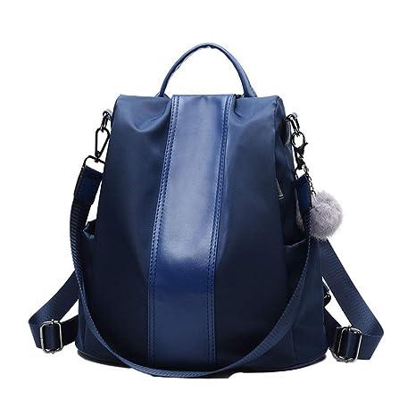 971f200fb8 ... borsa a; Deaman Casual Grande Backpack Donna Zaino Pelle Tinta Unita;  Backpack Multicolor; Ambiguity Zaino ...