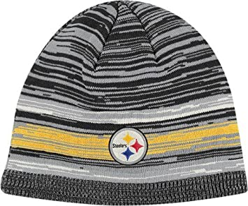 39c3b9673 Image Unavailable. Image not available for. Color  Pittsburgh Steelers  Reebok Classics Vintage Heathered Cuffless Knit Hat