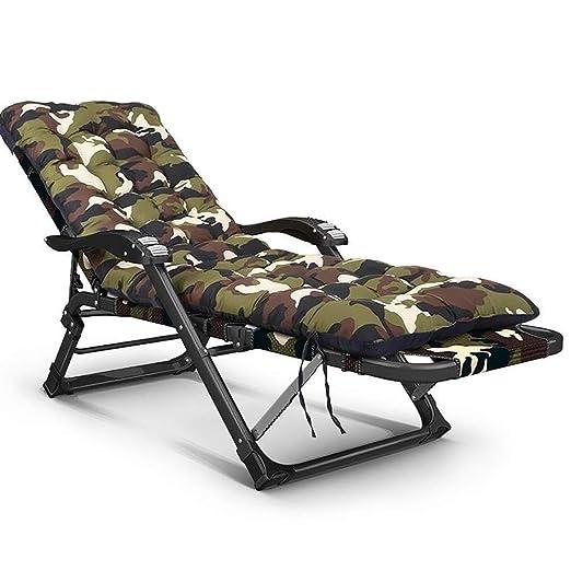 FRSLO Reclining Garden Chair, Cama Plegable Plegable con ...