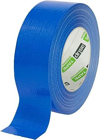 B47008500013 Boma 50 mm x 10 m couleur bleu Ruban adh/ésif toil/é pour r/éparations