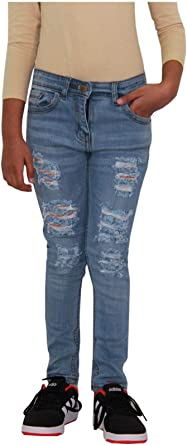 A2Z 4 Kids/® Kids Boys Skinny Jeans Designers Denim Ripped Stretchy Pants Fashion Trousers New Age 3 4 5 6 7 8 9 10 11 12 13 Years