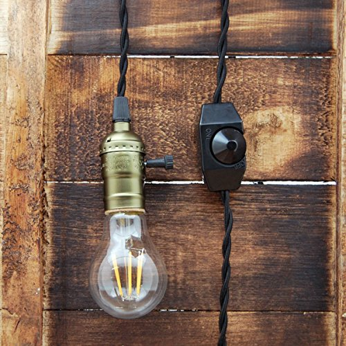 Black And Copper Pendant Light in US - 5