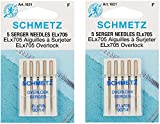 #10: ELX705 Serger Needles -Size 14/90 5/Pkg (2 Pack)