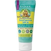 Badger Baby Sunscreen SPF 30, 87 milliliters