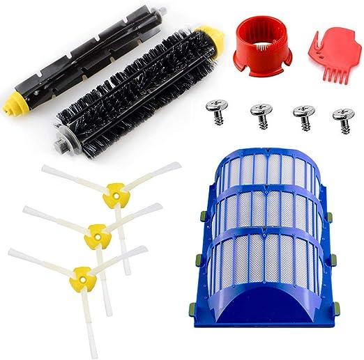 Kit de limpieza de repuesto Roomba serie 600, cepillos y filtros ...