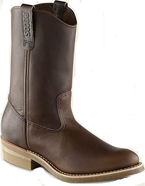0623d45e694 Amazon.com | Red Wing 1155 Men's 11-inch Pull-on Boot (7D) Brown | Shoes