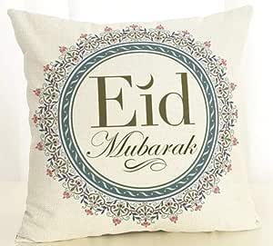 Eid Mubarak Decoration Cushion Cover