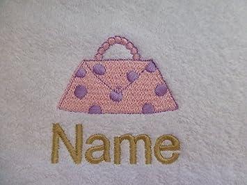 Toalla para la cara, toalla de mano, toalla de baño, baño (o) personalizado con bolso Logo ...