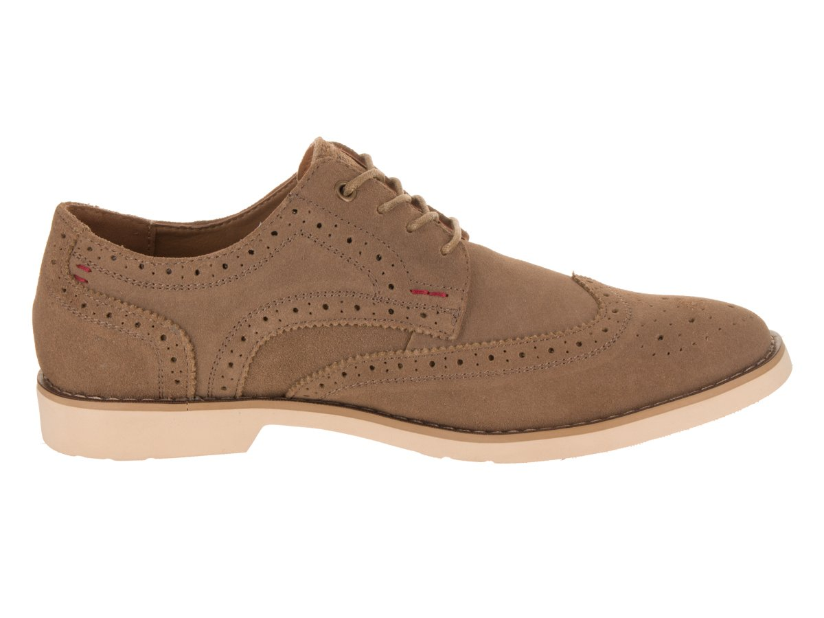 Hush Puppies Men's Fowler EZ Dress Oxford, Taupe Suede, 10 M US by Hush Puppies (Image #5)