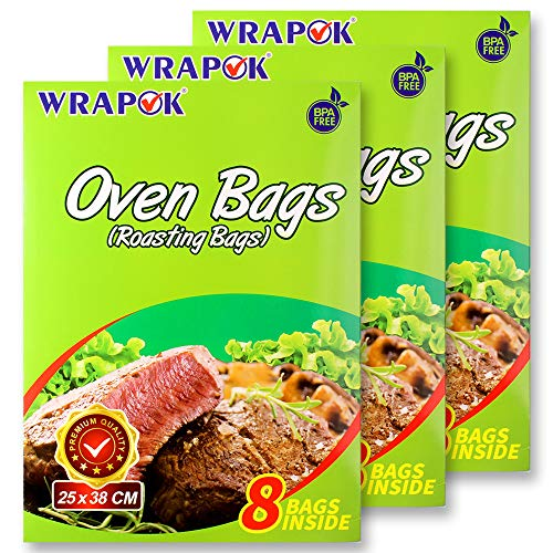 WRAPOK Oven Cooking Turkey Bags Small Size Ribs
