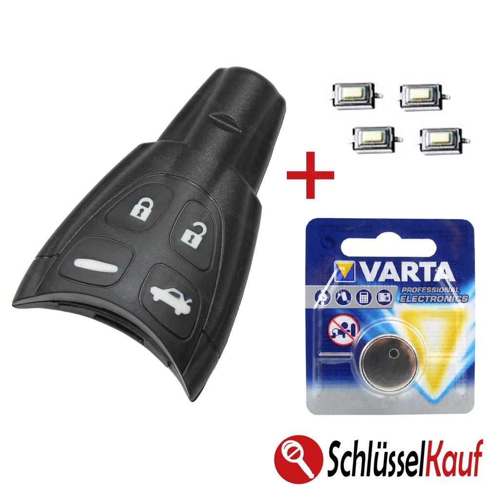SAAB Kit de r/éparation pour bo/îtier de cl/é de voiture 93 95 9-3 9-5
