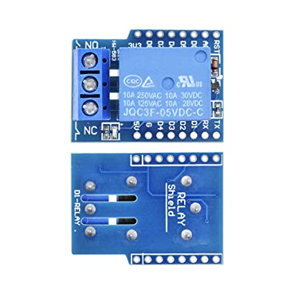 Esp8266 Relay Shield Module V2 For Wemos D1 Mini Esp8266 Development Board For Wemos D1 Mini Relay Module For Arduino Esp8266 Active Components