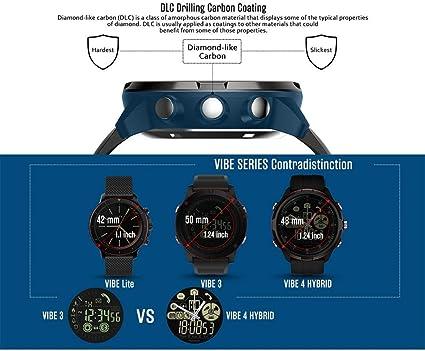 JCXT Vibe Reloj Inteligente 4, súper Ligero híbrido Resistente ...