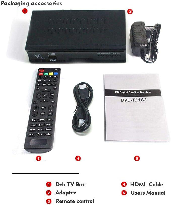 Vmade Full Hd Hdtv Dvb T2 S2 Combined Receiver Free Elektronik