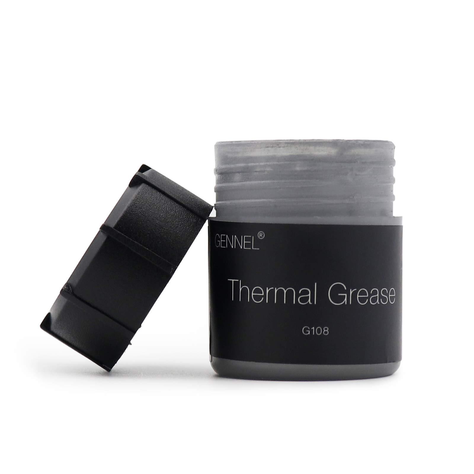 Grasa térmica para procesador, CPU, coolers 20g. Base carbon