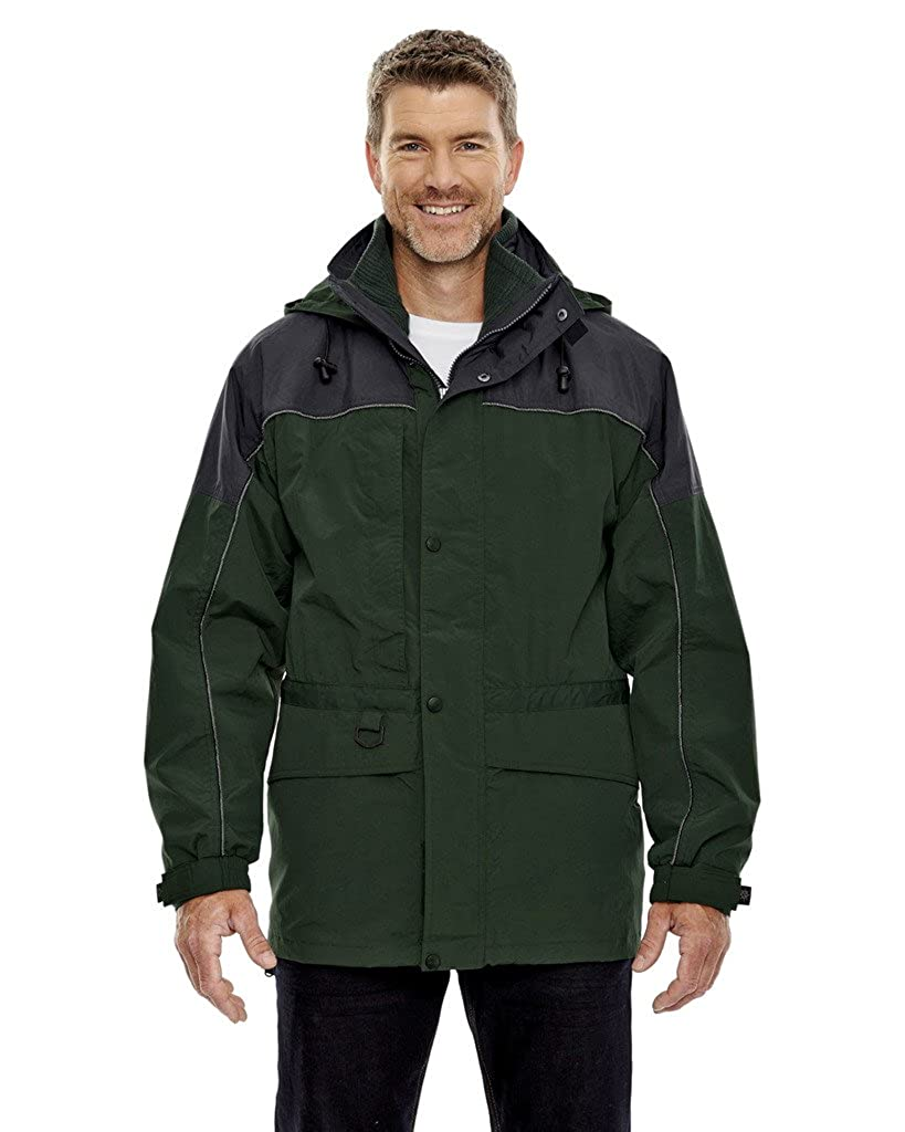 Big Mens 3-in-1 Two-Tone Parka