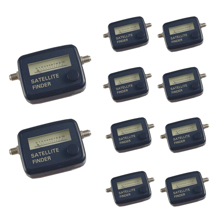 SF-95 Satellite Finder SF95 Analog 950-2150 Mhz FTA Dish Signal SF 95 Meter Finders (10) by SF-95 Satellite Finders