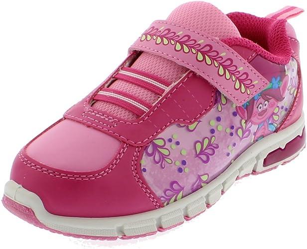 Trolls Poppy Girls Lighted Sneaker