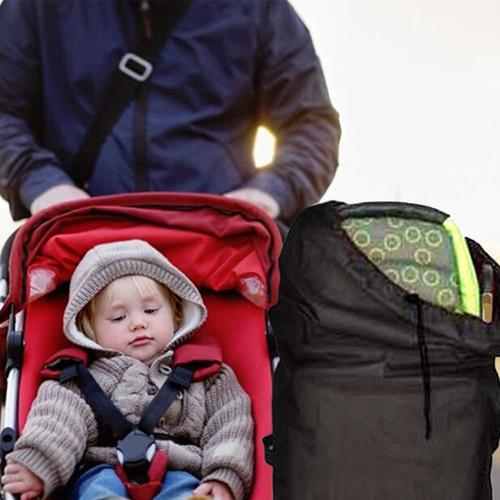 Kinderwagen-Reisetasche f/ür Flugzeug mit Schultergurten wasserdicht