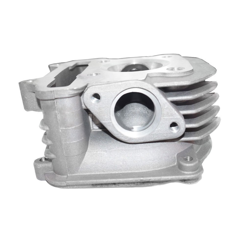 Complete Cylinder Head GY6 150cc (Cylinder Head, Valves, Springs, Seals) by MMG (Image #3)