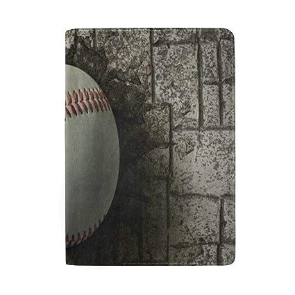 Amazoncom Passport Holder Brick Wall Baseball Passport Cover Case