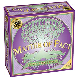 MATTER OF FACT - The Trivia Challenge Board Game - 61FeGTXKogL - Matter of FACT – The Trivia Challenge Board Game