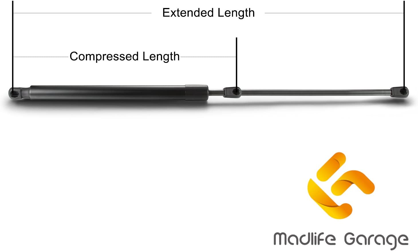 Pair of Gas Struts Lift Support XS41A406A10AE For Focus MK1 From Madlife Garage
