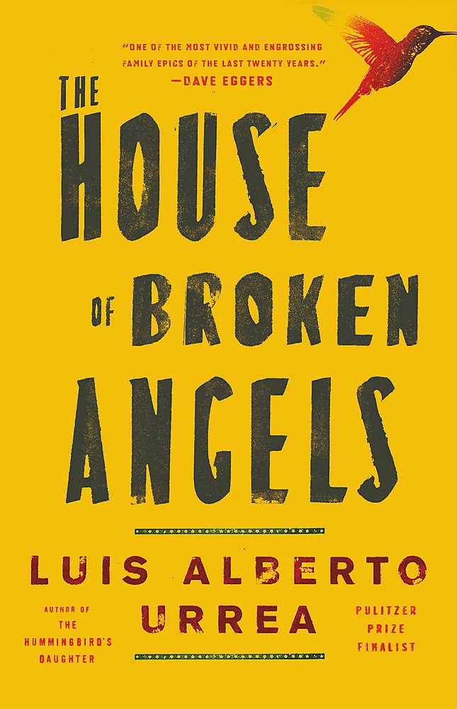 Image result for the house of broken angels book cover