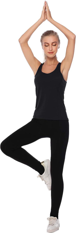 Hawiton Camiseta de Tirantes de Algodón para Mujer, Pack de 2