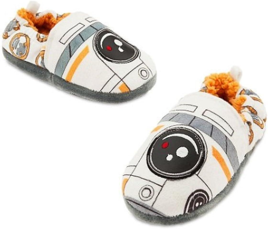 disney New Star Wars BB-8 Slippers for Kids size 11//12