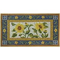 Classic Berber Accent Rug, Stain Resistant Rug, Skid Resistant, Sun Garden, 40 x 22