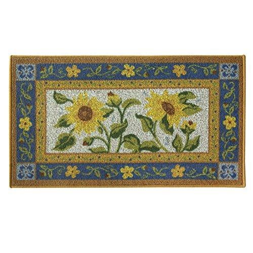 - Classic Berber Accent Rug, Stain Resistant Rug, Skid Resistant, Sun Garden, 40