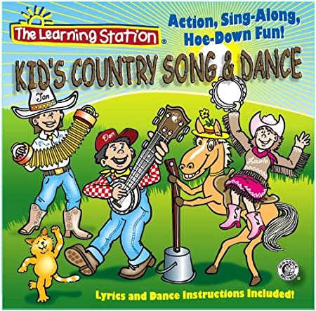 The Learning Station - Kid's Country Song & Dance - Amazon.com Music